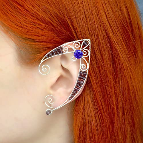 Elven Ears Larp Wedding Elf Ear Cuff Wire Wrapped Cuffs Template