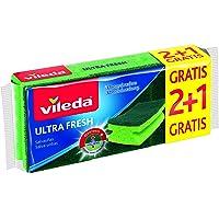 Vileda Salvauñas Ultra Fresh 2+1, Verde