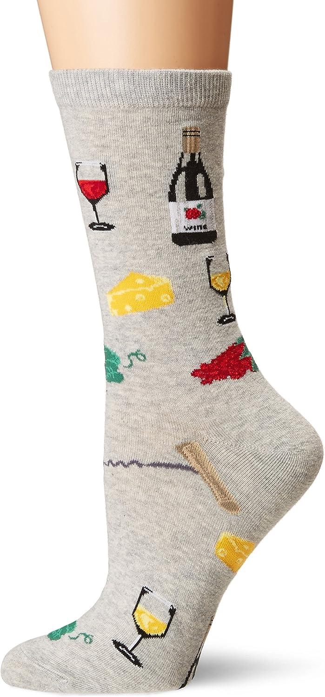 K. Bell Socks Women's Food & Drink Novelty Casual Crew Socks