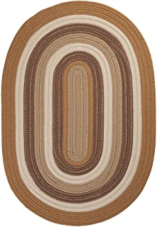 "product image for Colonial Mills Brooklyn Gold Runner 2'0""x8'0"" Braided Area Rug"