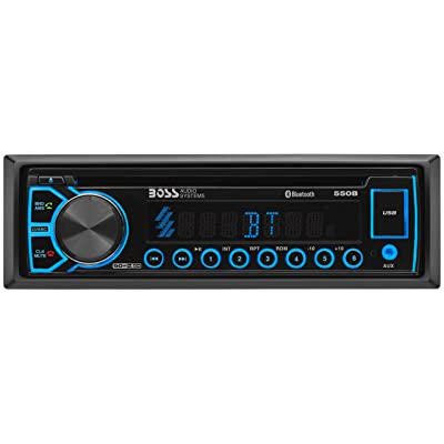 BOSS Elite 550B Car Receiver - Single Din, Blueooth, CD / MP3 / USB AM/FM Radio: Car Electronics