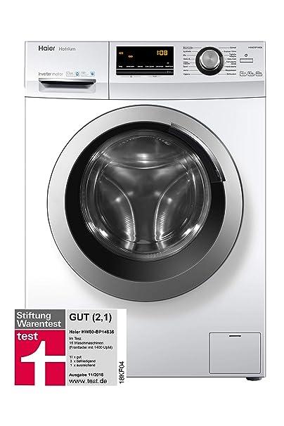 Haier HW80-BP14636 weiß: Amazon.es: Grandes electrodomésticos