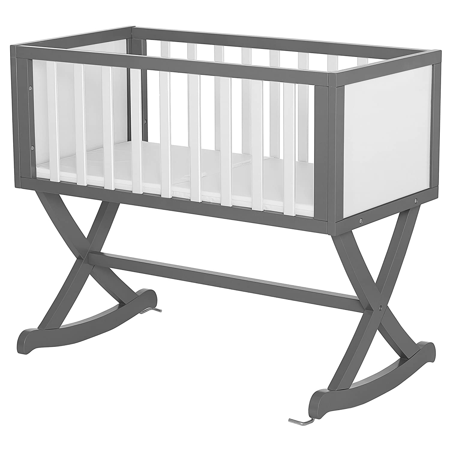 Dream On Me Luna Cradle, Steel Grey Dream on Me Dropship 641-SGY