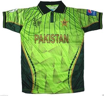 e96133f7be6 Pakistan World Cup 2015 Official Cricket Shirt (34)  Amazon.co.uk ...