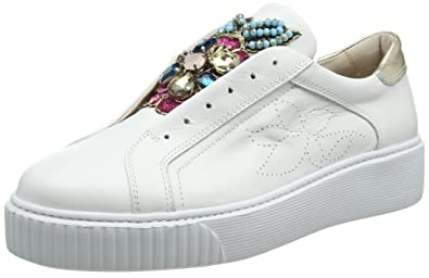 Flamenco, Sneakers Basses Femme, Blanc (Bianco C00), 39 EUTosca Blu
