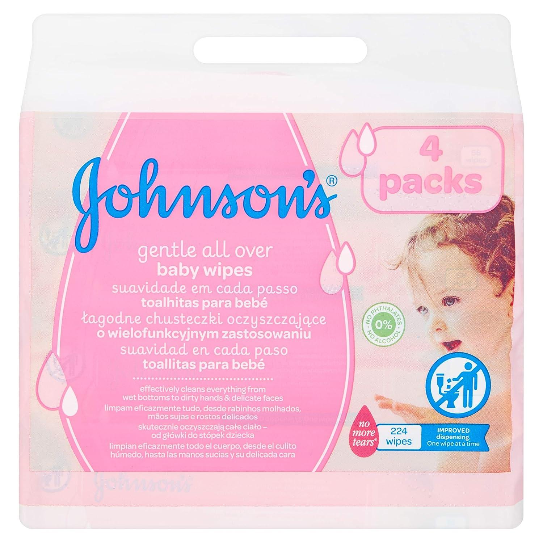 Johnsons baby - Toallitas para bebe suavidad en cada paso, 224 uds: Amazon.es: Amazon Pantry