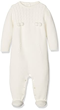 Neck & Neck 17I0420, Pelele para Bebé-Niños, Blanco (Blanco Óptico)