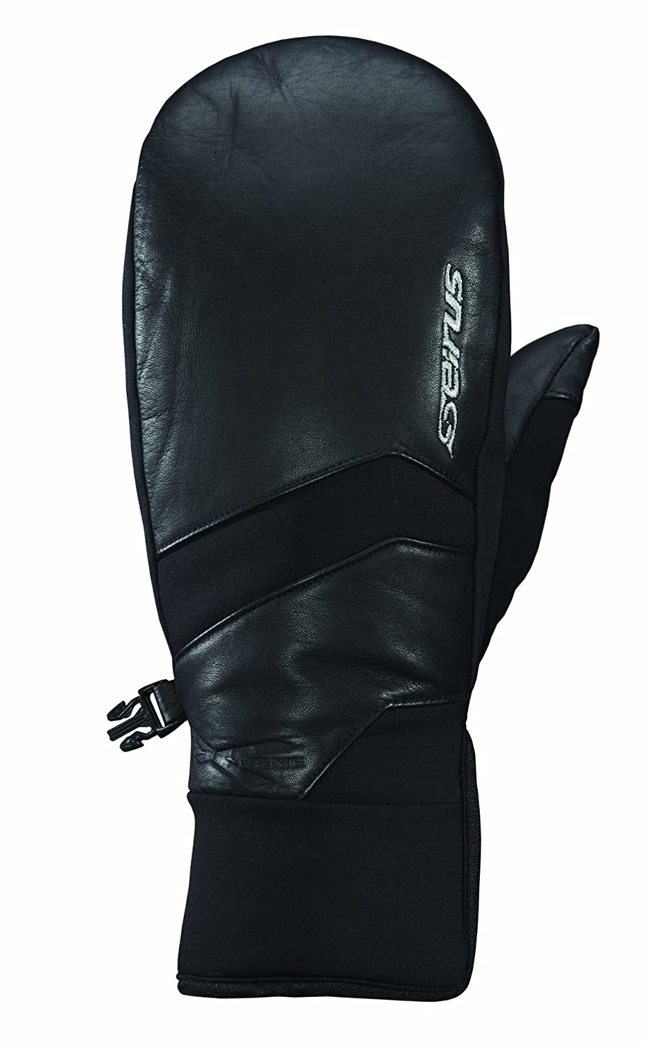 Seirus Innovation 1440 Womens Ladies Xtreme All Weather Edge Form-fit Waterproof Leather Mitt Mittens 1440F-BLK-S