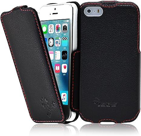 Leicke  iPhone 7 Cover MANNA custodia per iPhone 7 in vera pelle