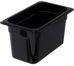 Carlisle 3068203 StorPlus Fourth Size Food Pan, Polycarbonate, 6