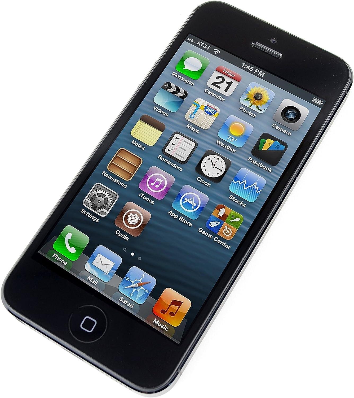 Apple iPhone 5 16GB negro smartphone como NUEVO en su embalaje ...