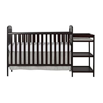 Amazon.com : Dream On Me, 4 in 1 Full Size Crib and Changing Table ...
