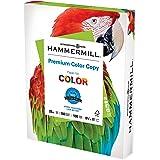 Hammermill Printer Paper, Premium Color 28 lb Copy Paper, 8.5 x 11 - 1 Ream (500 Sheets) - 100 Bright, Made in the USA, 10246