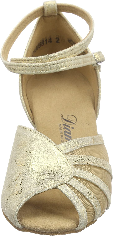 Diamant Damen Latein Tanzschuhe 020 087 017, Chaussures de