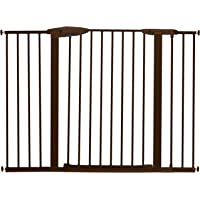 Munchkin Easy Close XL - Puerta para bebé (metal), Bronce