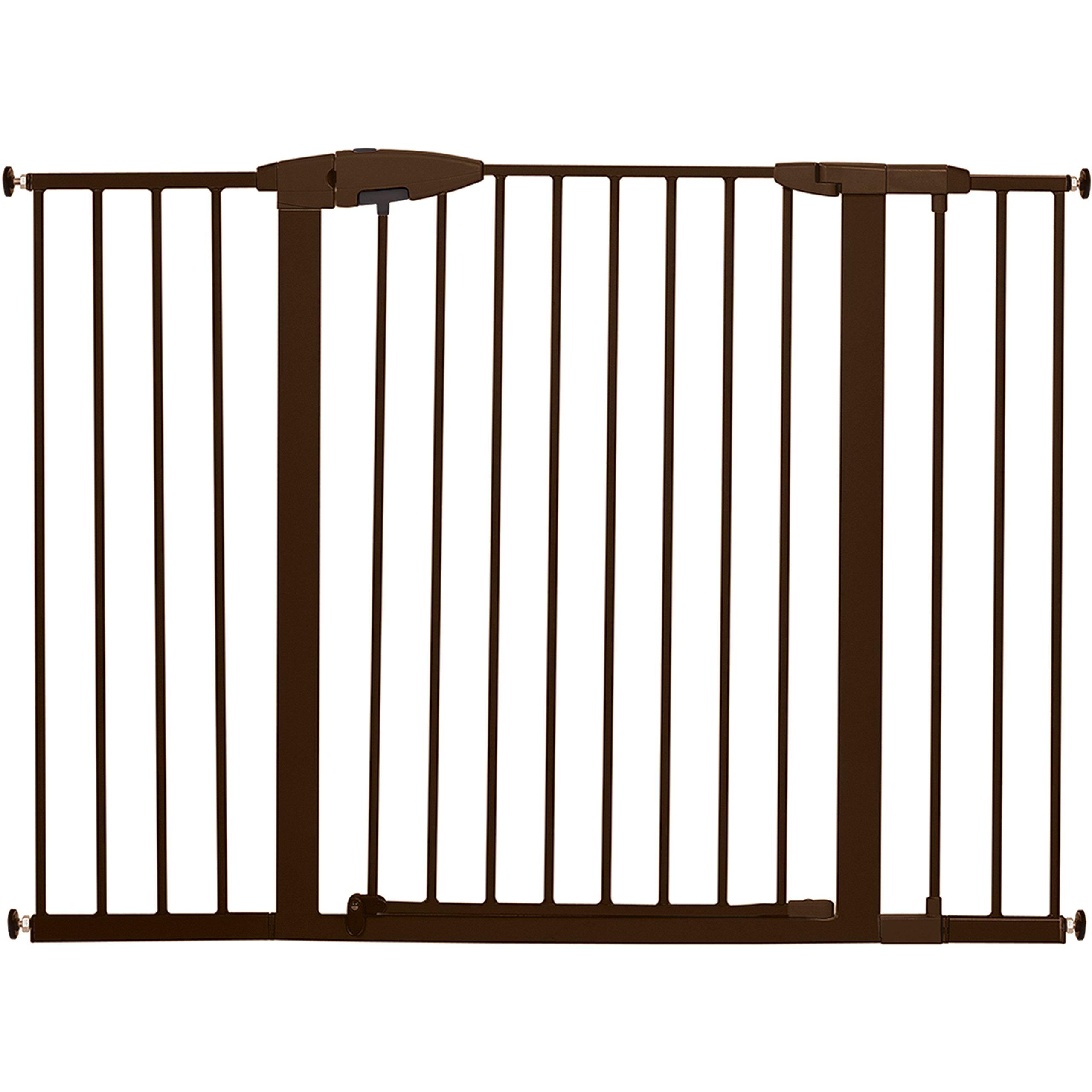 Munchkin Easy Close XL Metal Baby Gate, 29.5'' - 51.6'' Wide, Bronze, Model MK0009-111 by Munchkin