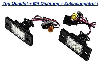 TOP LED iluminaci/ón de la matr/ícula