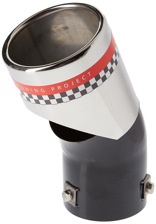 ER096 - Acero inoxidable de tubo de escape del tubo de escape de para atornillar Embellecedor de tubos de escape movedizo universales: Amazon.es: Coche y ...