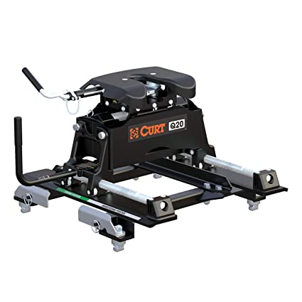 amazon com curt 16671 black towing wiring automotive Short Bed Fifth Wheel Hitches for Trucks image unavailable