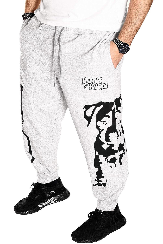 Unbekannt Herren Hose Jogginghose Trainingshose Bodyguard Gym Bulldogge Harem weit Sport Fitness Hund R.C.1.4