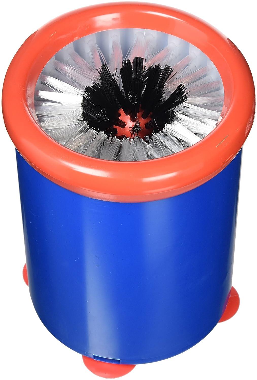 Prodotto per la pulizia dei bicchieri, da bar, facile da usare e pulire, con spazzole in nylon, rotondo, 180 x 140 mm Non Branded 8538