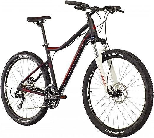 Merida Juliet 6.40 de D 26 pulgadas Mountain Bike Mujer Negro/Rojo ...