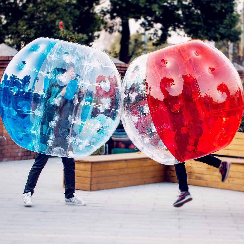 Popsport バブルサッカー用バンパーボール 4フィート/5フィート 0.8mm 環境に優しいPVC製 大人&子供用 B071WRGSP5 5FT 2Pcs 5FT 2Pcs