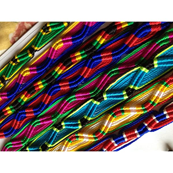 Wholesale Lot of 100 Peruvian Friendship Bracelets Sanyork Fair Trade SG/_B00IEEAY0A/_US