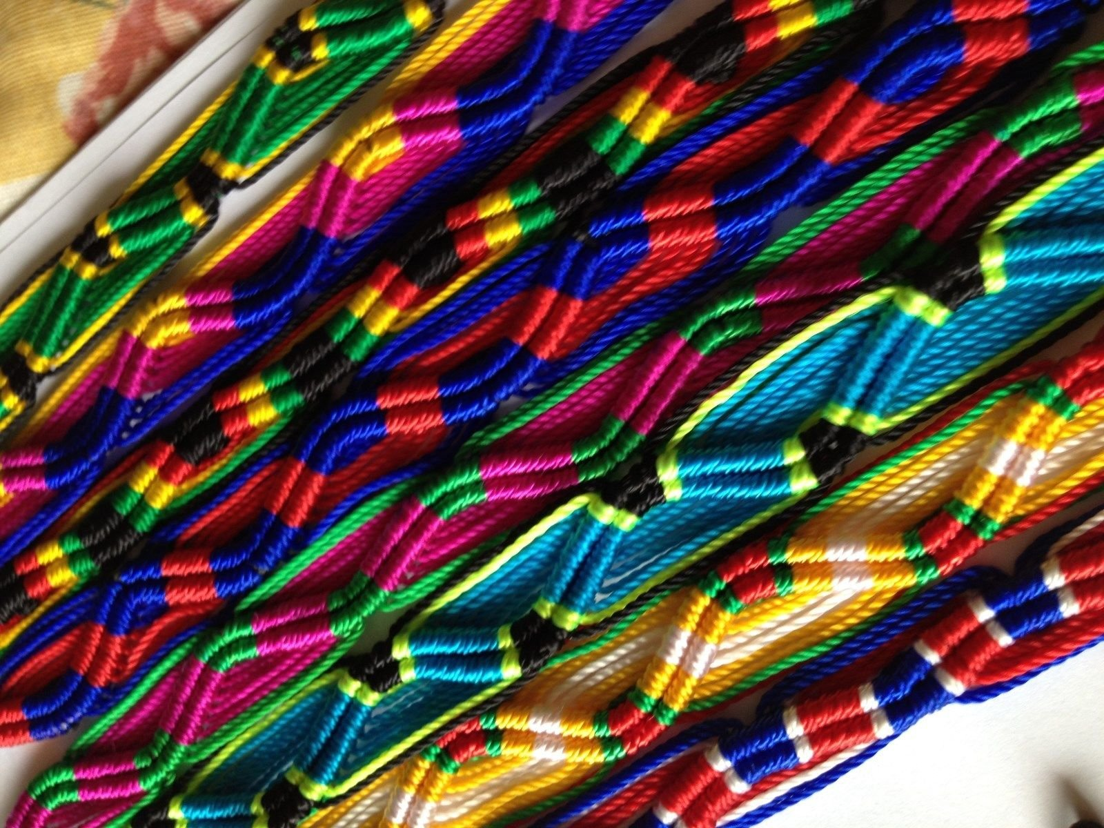 Friendship Bracelets Handmade Wholesale LOT 50 MIX From Peru