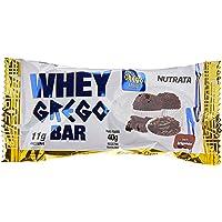 Barra Whey Grego Bar Brigadeiro, Nutrata, 12 Unidades de 40g