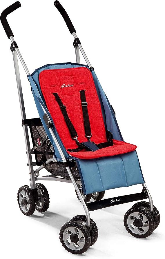 Giordani 8054688006092 Algodón Rojo colchoneta para silla de paseo ...