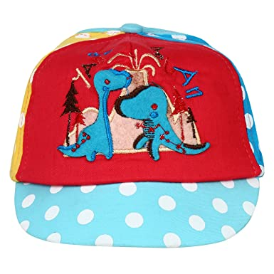 5f3ee504f1f Eccellente Kids Digital Print Cap - Blue  Amazon.in  Clothing ...