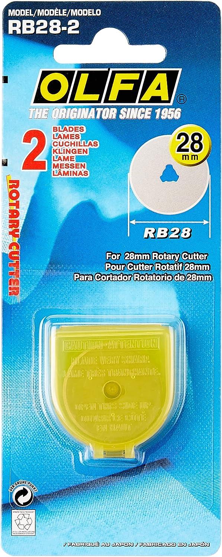 OLFA RB28 Ersatzmesser Rollmesser Rollschneiderklingen für Rollschneider RTY-1