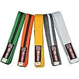 ROLL HARD Brand - Youth IBJJF Jiu Jitsu Belts - All colors and sizes