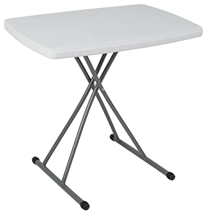 BCP Portable Personal Folding Table High Adjustable Indoor/Outdoor 30u0026quot;  ...