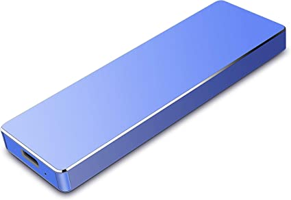 Xbox One Apple Mac Windows Disque Dur Externe 1TO Portable Ultra Mince Type C USB 3.1 Disque Dur pour PC Xbox 360 Xbox 1TO, Argent