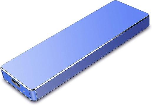 Wsgoo Disco Duro Externo 2tb USB 3.1 Disco Duro Externo para Mac, PC,MacBook, Chromebook, Xbox (2tb, Azul): Amazon.es: Electrónica