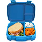Bentgo Fresh – Leak-Proof, Versatile 4-Compartment Bento-Style Lunch Box with Removable Divider, Portion-Controlled Meals for