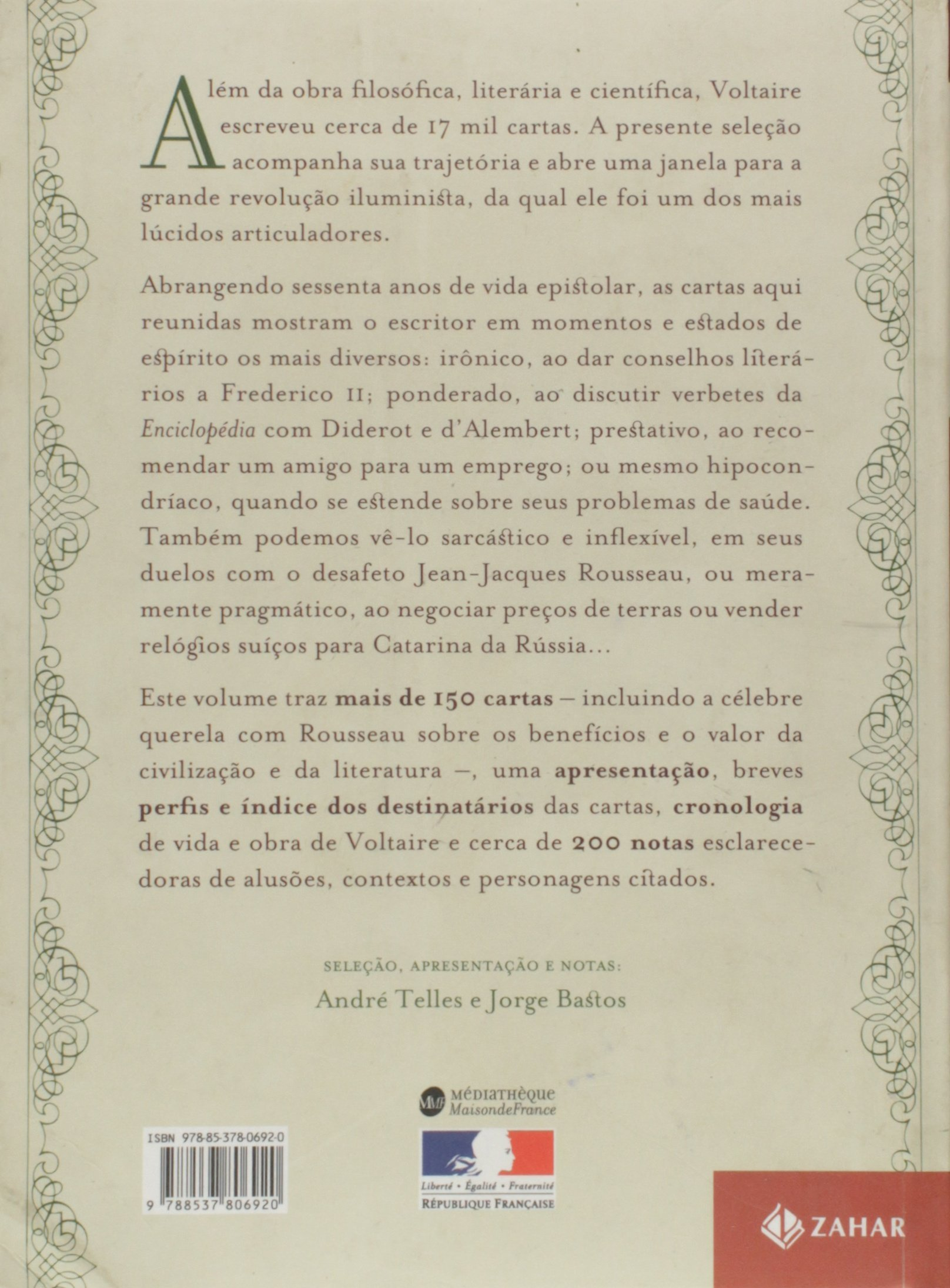 Cartas Iluministas: Correspondencia Selecionada E (Em ...