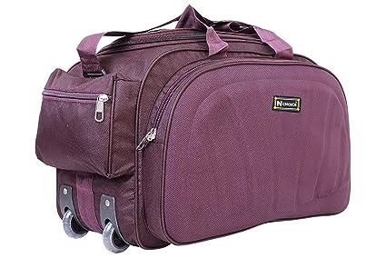 1350214d7e N Choice Unisex Polyester Purple 40 L Waterproof Lightweight Duffle ...