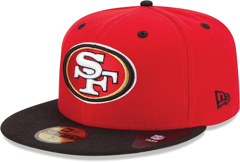 NFL サンフランシスコ フォーティナイナーズ キッズ ツートーン 59Fifty フィッテドキャップ レッド 6 1/2