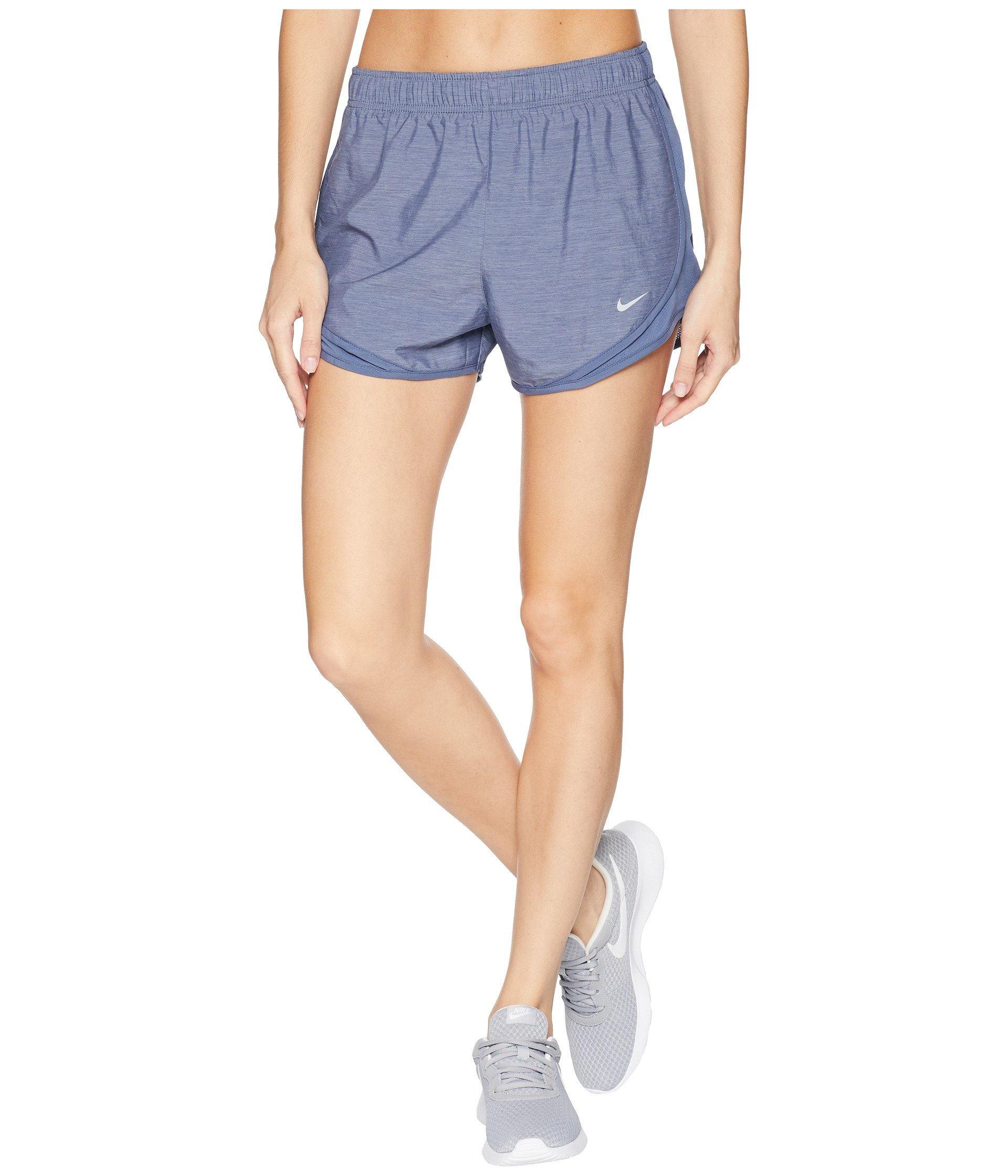 NIKE Women's Tempo Running Shorts (Obsidian/Wolf Grey, X-Large 3) by Nike