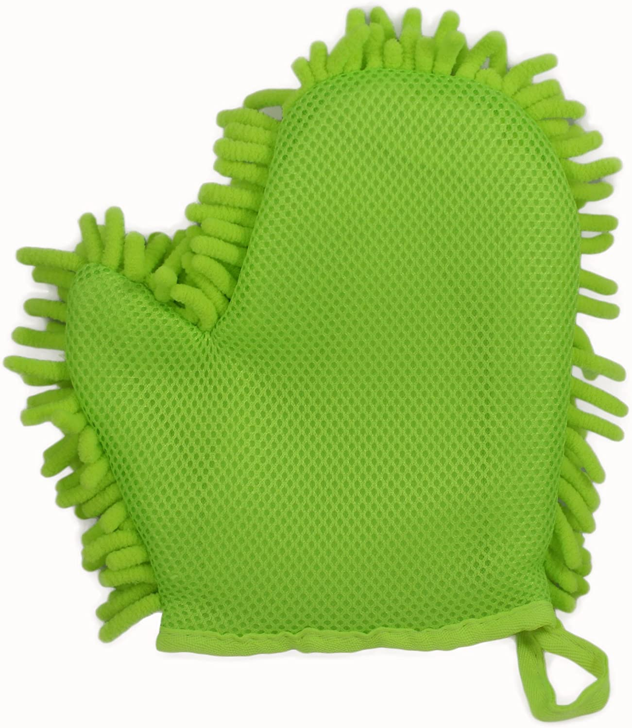 Reusable Lint-Free Cleaning Mitts ABN Car Wash Chenille Microfiber Mitt