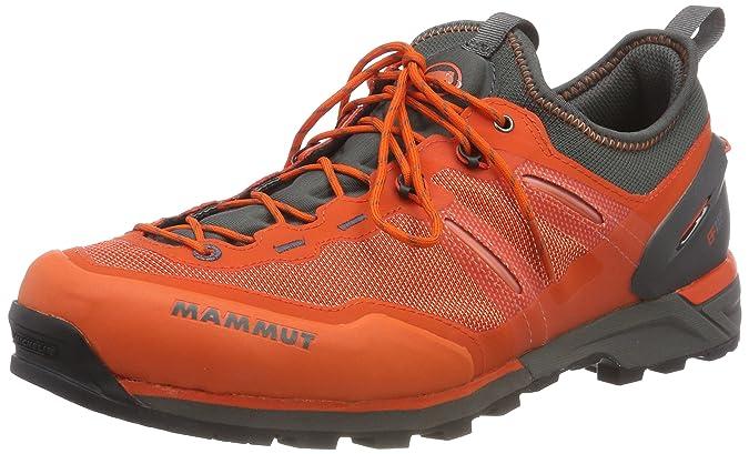 Mammut Alnasca Knit Low, Zapatillas de Senderismo para Hombre, Naranja (Dark Orange/Graphite), 46 2/3 EU: Amazon.es: Zapatos y complementos