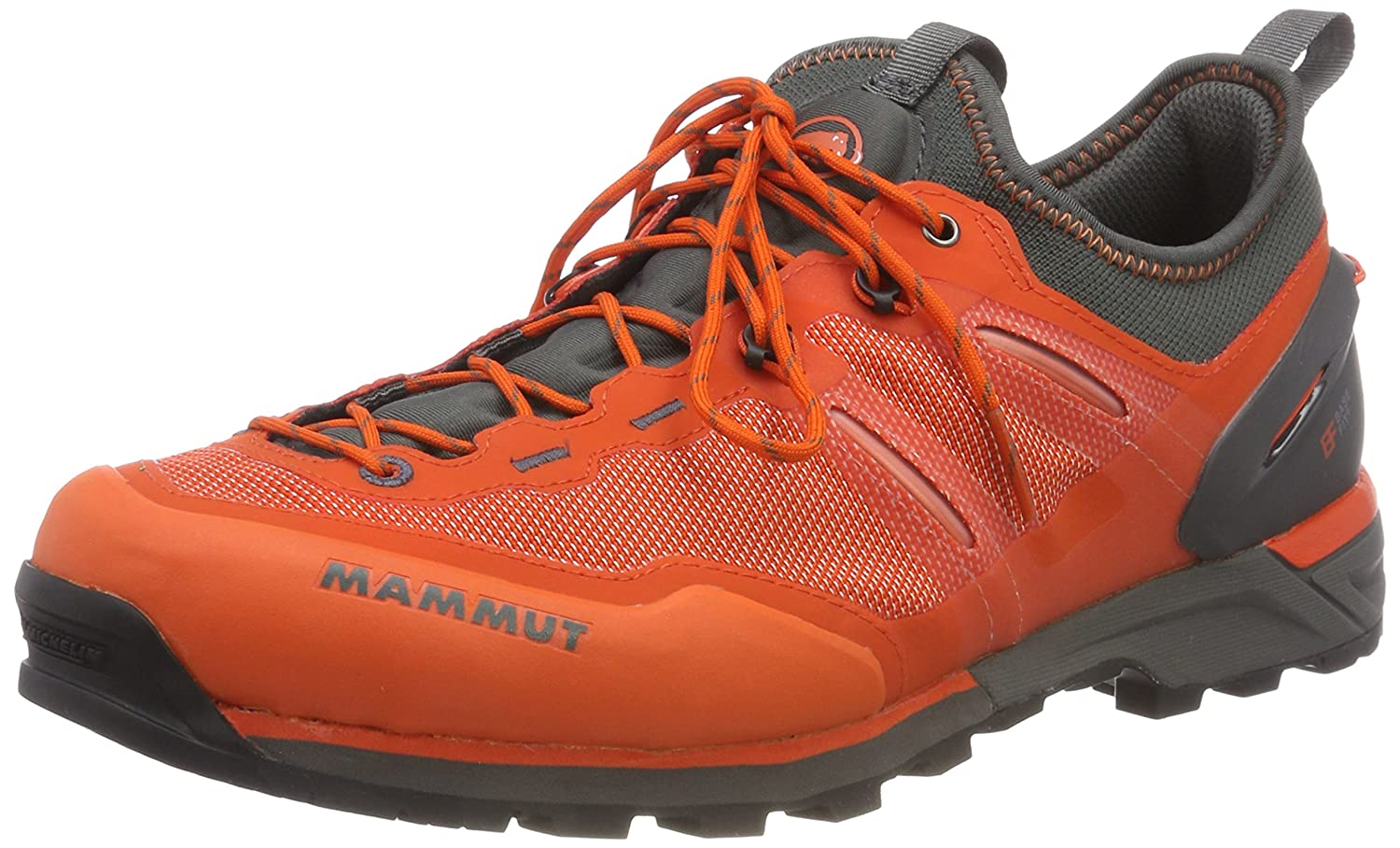 Raichle / Mammut Alnasca Knit Low Men d'orange/graphite EU 48 2/3-UK 13,0   B078SYF4BK