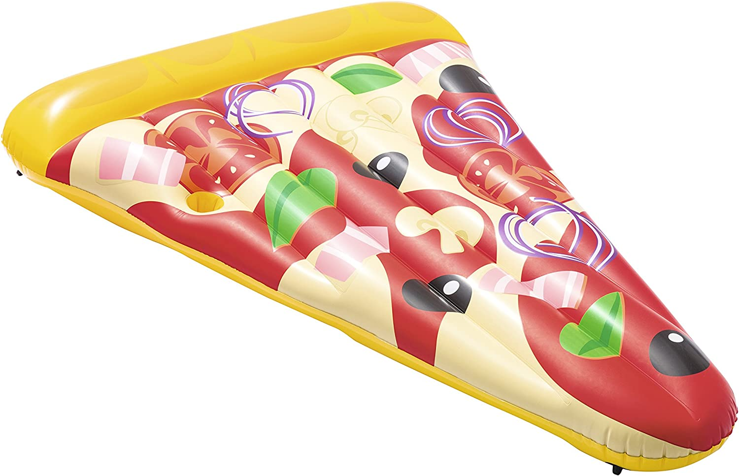 Pizza Slice Inflatable Giant Swimming Pool Float Raft Lounger