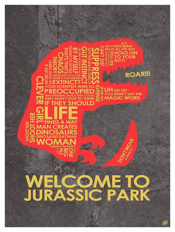 "Amazon.com: Jurassic Park, palabra ""Bienvenido a ..."