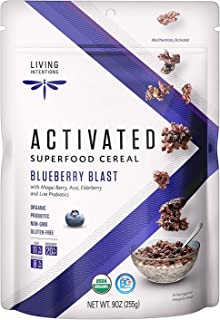 product image for Living Intentions Superfood Cereal 9 ounce 6 Pack (Blueberry Blast)