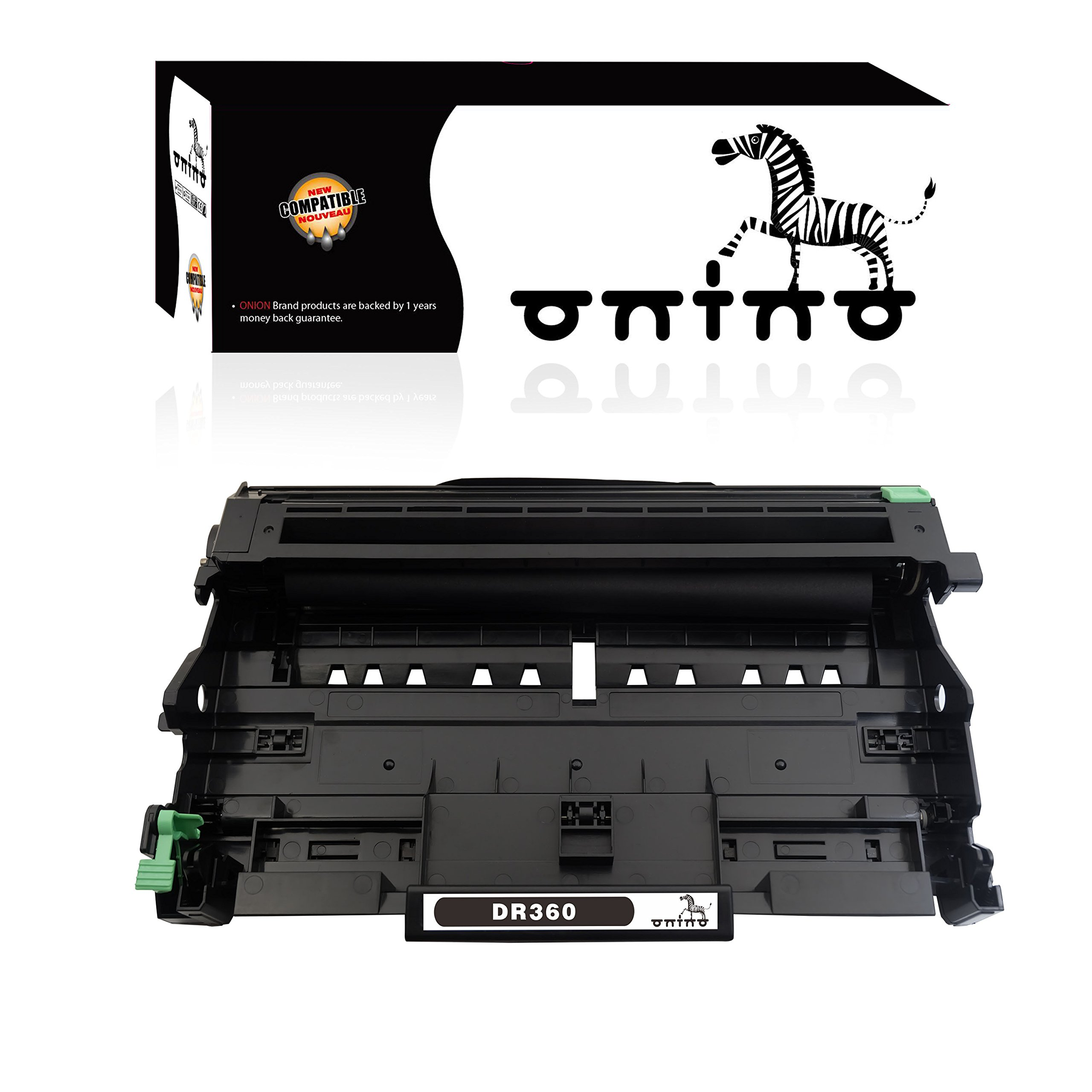 ONINO Replacement Drum Unit for Brother DR360 Work with Brother HL-2140 HL-2150N HL-2170W DCP-7030 DCP-7040 MFC-7340 MFC-7840W MFC-7440N MFC-7345N
