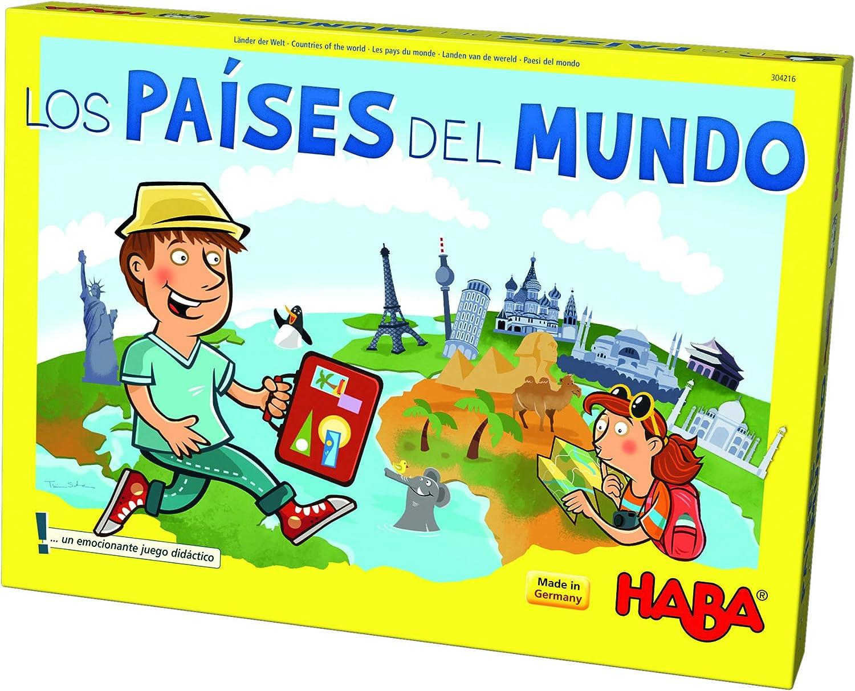 HABA- Juego de Mesa, Los Países del Mundo, Multicolor (Habermass ...